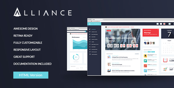 Alliance | Intranet & Extranet HTML Template by ThemeREX | ThemeForest