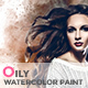 Oily Watercolor Paint | PS -Graphicriver中文最全的素材分享平台