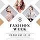 Clean Fashion Week Event Fl-Graphicriver中文最全的素材分享平台