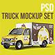 PSD Truck Mockup-Graphicriver中文最全的素材分享平台