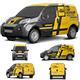 Realistic PSD Car Mockup-Graphicriver中文最全的素材分享平台
