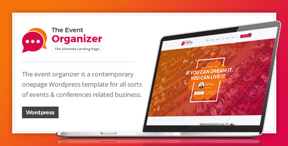 Event Organizer - For Conference and Event by ExproStudio | ThemeForest