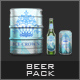 Beer Pack Mock-Up-Graphicriver中文最全的素材分享平台