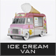 Ice Cream Van Mockup-Graphicriver中文最全的素材分享平台