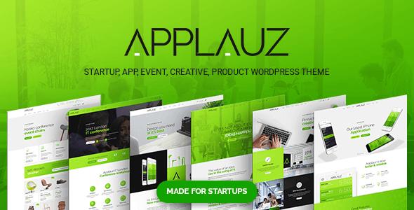 Lauz Startup And Digital Business WordPress Theme Technology