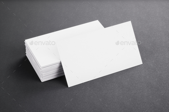Blank template white business cards on black background 3d blank template white business cards on black background 3d rendering stock photo by ilyarexi accmission Image collections