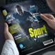 Sport Magazine-Graphicriver中文最全的素材分享平台