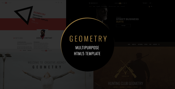 Geometry — Multipurpose HTML5 Template by NetGon | ThemeForest