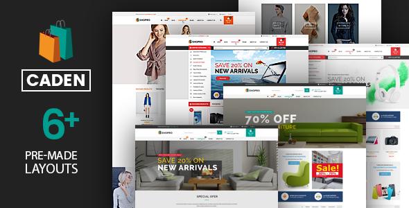 Caden - Mega Store Responsive WordPress Theme by Plaza-Themes ...