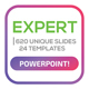 Expert Powerpoint Template-Graphicriver中文最全的素材分享平台