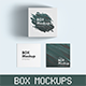 Packaging Box Mockups-Graphicriver中文最全的素材分享平台