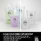Clear Cold Drink Cups Packa-Graphicriver中文最全的素材分享平台