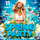 Spring Party Flyer-Graphicriver中文最全的素材分享平台