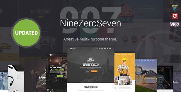 907 responsive multi purpose wordpress theme by webcreations907