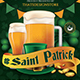 Saint Patricks Day Flyer Te-Graphicriver中文最全的素材分享平台