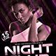 Night Club Flyer-Graphicriver中文最全的素材分享平台