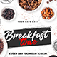 Breakfast Time Flyer-Graphicriver中文最全的素材分享平台