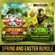 Spring and Easter Bundle-Graphicriver中文最全的素材分享平台