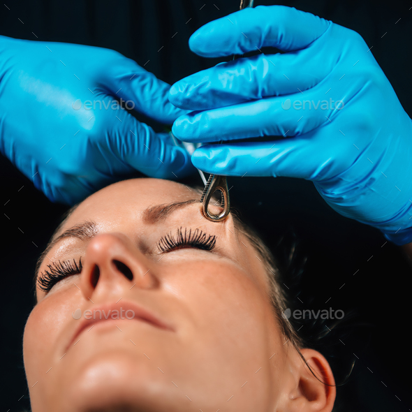 Eyebrow Piercing Stock Photo By Microgen Photodune