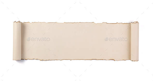 parchment scroll isolated on white stock photo by seregam photodune