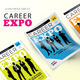 Career Expo Flyers-Graphicriver中文最全的素材分享平台