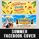 Summer Facebook Cover-Graphicriver中文最全的素材分享平台