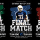 Final Match Football Flyer-Graphicriver中文最全的素材分享平台