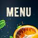 Drinks Menu-Graphicriver中文最全的素材分享平台