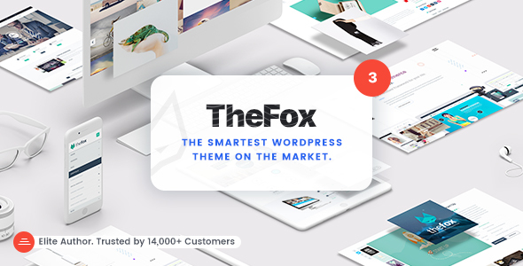 TheFox | Responsive Multi-Purpose WordPress Theme by tranmautritam