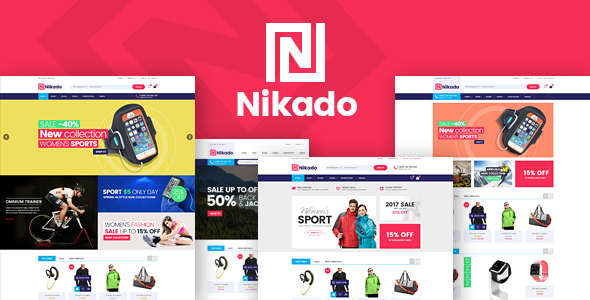 Download Nikado - Responsive Theme for WooCommerce WordPress WordPress Theme