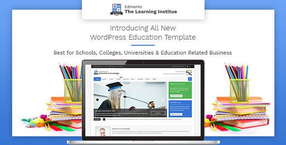 Edmento - Education WordPress Theme by Themographics | ThemeForest