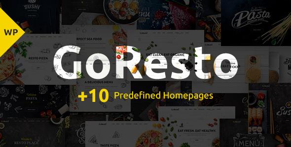 GoResto Multipurpose Restaurant Table Booking WordPress Theme By - Restaurant table booking