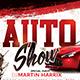 Auto Show Flyer-Graphicriver中文最全的素材分享平台