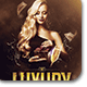 Luxury Night Flyer v2-Graphicriver中文最全的素材分享平台
