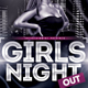 Girls Night Out Flyer-Graphicriver中文最全的素材分享平台