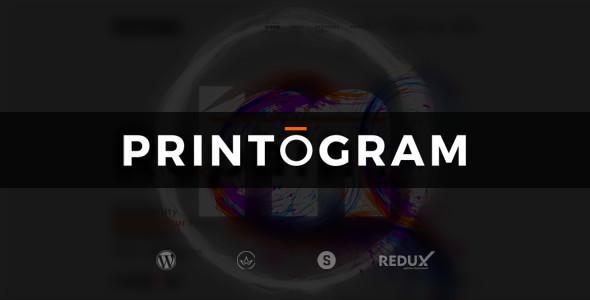 Download Printogram — WordPress Theme WordPress Theme