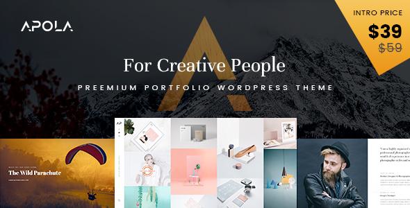 Download Apola - Photography Portfolio WordPress Theme WordPress Theme