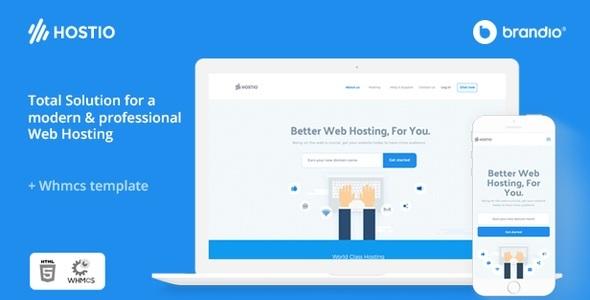 Hostio Web Hosting & WHMCS WordPress Theme by vergatheme | ThemeForest