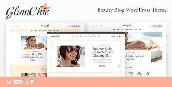 GlamChic | Beauty Blog & Online Magazine WordPress Theme by AncoraThemes