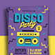 Disco Party Flyer-Graphicriver中文最全的素材分享平台