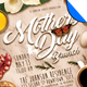 Mothers Day Brunch-Graphicriver中文最全的素材分享平台