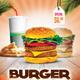 Burger Flyer-Graphicriver中文最全的素材分享平台