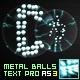 Pixel Block Text Pro AS2