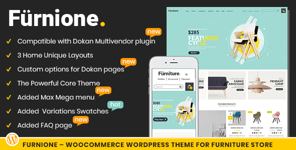 Furnione - WooCommerce WordPress Theme for Furniture Store by ...