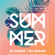 Summer Party Flyer-Graphicriver中文最全的素材分享平台