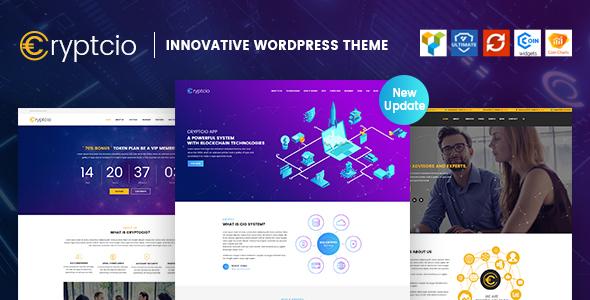 Cryptcio - Innovative WordPress Theme by ArrowHiTech | ThemeForest