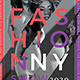Fashion Show Flyer Template-Graphicriver中文最全的素材分享平台