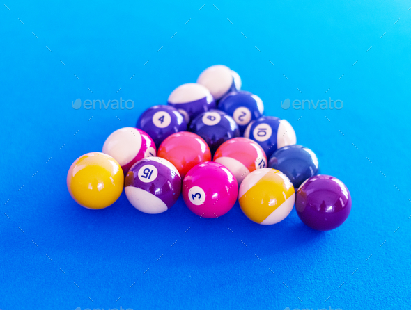 Billard Balls Setup On A Pool Table Stock Photo By Rawpixel PhotoDune - How to set up a pool table