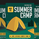 Summer Camp Flyer-Graphicriver中文最全的素材分享平台
