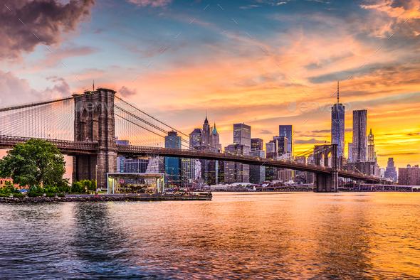 new york city skyline stock photo by seanpavonephoto photodune